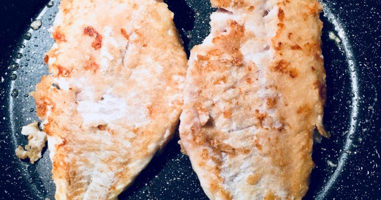 Filet vom Rotbarsch mit Gemüserisotto und Honigmöhren